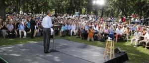 Obama in Minneapolis (dailycaller.com)