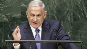 Benjamin Netanyau (AP photo. Seth Wenig)