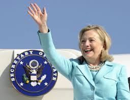 Hillary fllying (washintonpost.com)