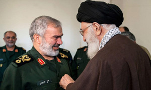 Supreme Leader Confers 'Fath' Medal on IRGC Commanders